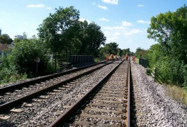 Railway lines (Petts Hill)