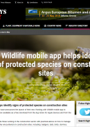Highways Today: Working with Wildlife app launch