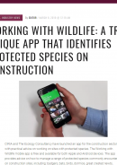 Kyphor: Working with Wildlife app launch