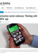 Green Building: Working with Wildlife app launch