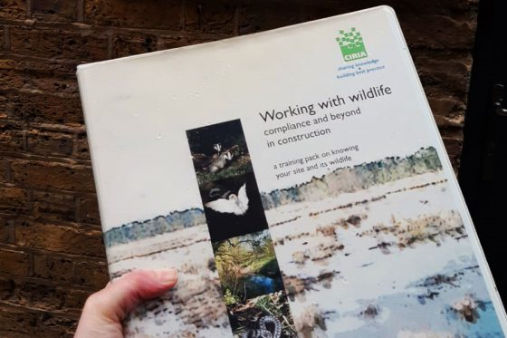 First publication of the Working with Wildlife guidance