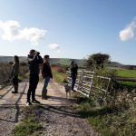 Bird walk in the South Downs National Park as part of environment week